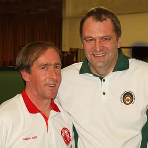 Glenn Skipp, Mark Jones, Singles Finalists 2013